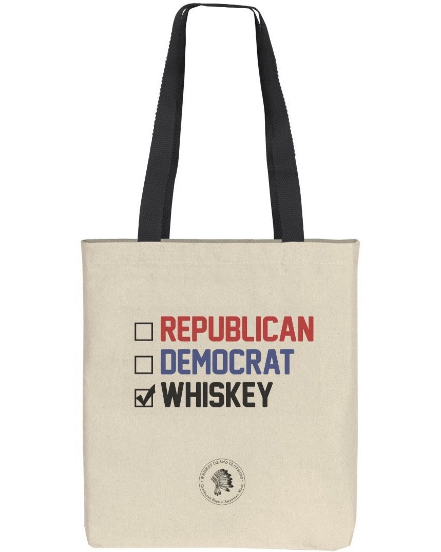 VOTE Whiskey Canvas Bag