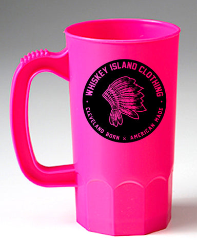Whiskey Island Neon Pink Party Mug - Whiskey Island Clothing