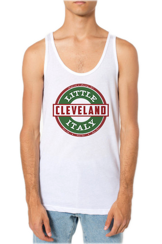 Little Italy Cleveland - Unisex Tank - White - Whiskey Island Clothing