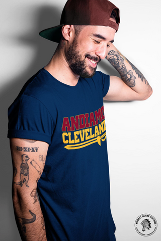 Andiamo Cleveland Basketball Unisex Tee - Whiskey Island Clothing