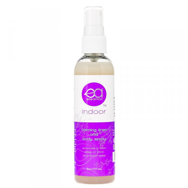 Eco-Armour 4 Oz. Indoor Calming Linen & Body Spray