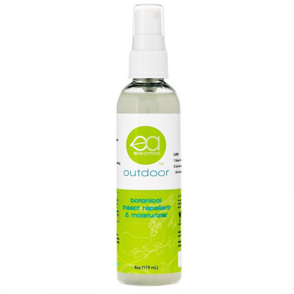 Eco-Armour - Botanical Insect Repellent & Moisturizer - Organically Based - 4 Oz.