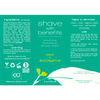 Shave With Benefits Mint + Eucalyptus Shave Foam Label