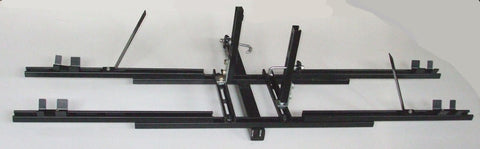 Two Recumbent Non-Tilt-Up Hitch Rack