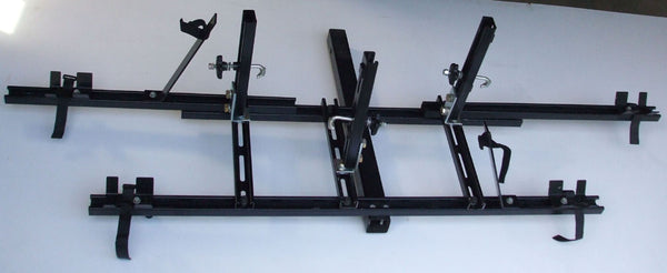 One Tandem & One Recumbent Non-Tilt-Up Hitch Rack