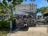 One Tandem & One Regular Bike Non-Tilt Hitch Rack