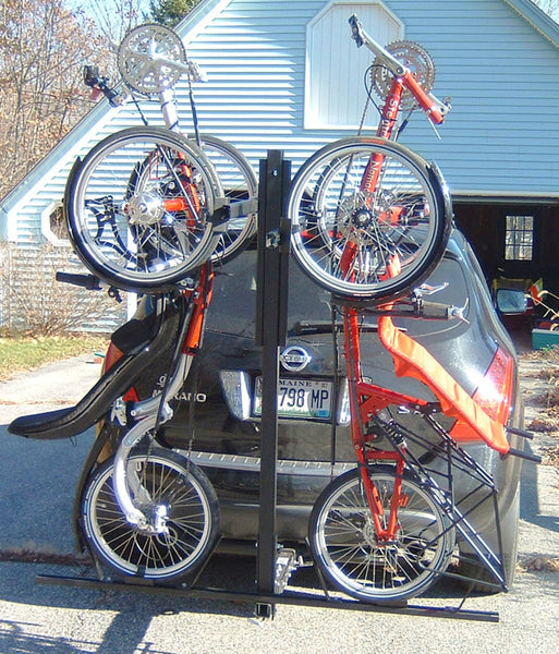 Two Trike Hitch Rack