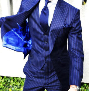 Elegant Three Piece Men's Suits, Le Style Parfait!