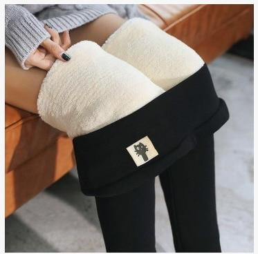 High Waist Thermal Leggings for Women