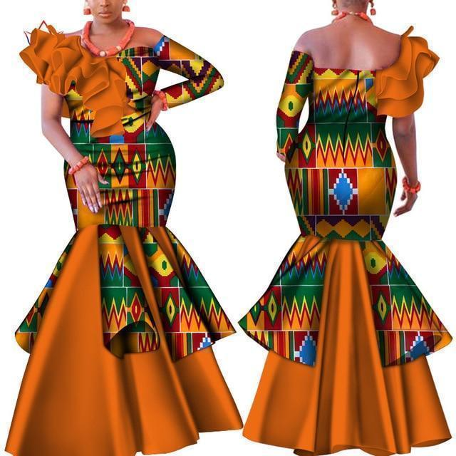 African Dress, Traditional African Dress-Dress-LeStyleParfait.Com