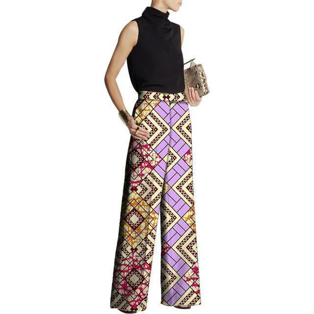 African Women Pants Fashion Design Pants Women Loose Pants