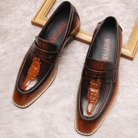 Angelo Leather Penny Loafers For Men-Shoes-Online-LeStyleParfait.Com