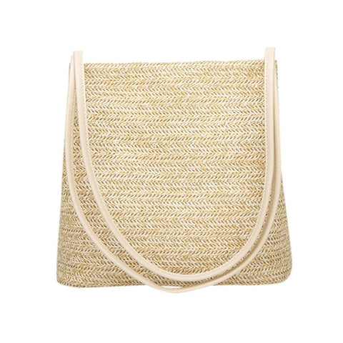 As Planned Straw Beach Bag-Bag-LeStyleParfait.Com