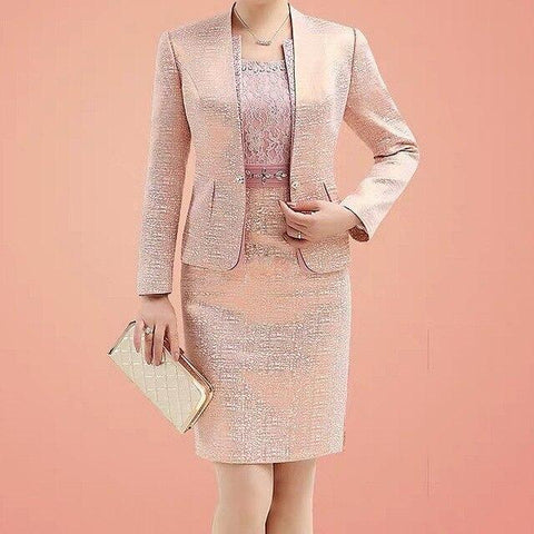 Bridal Dress with Blazer, 2-Piece-Dress-Online-LeStyleParfait.Com