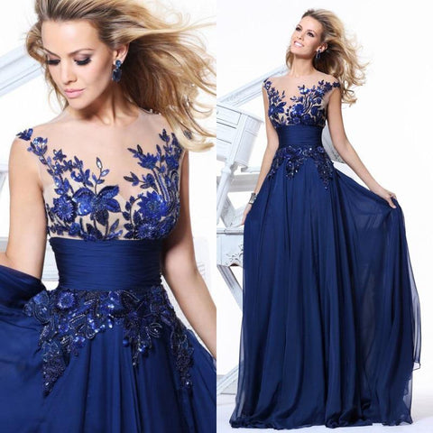 Cameron Charming Evening Dress-Dress-LeStyleParfait.Com