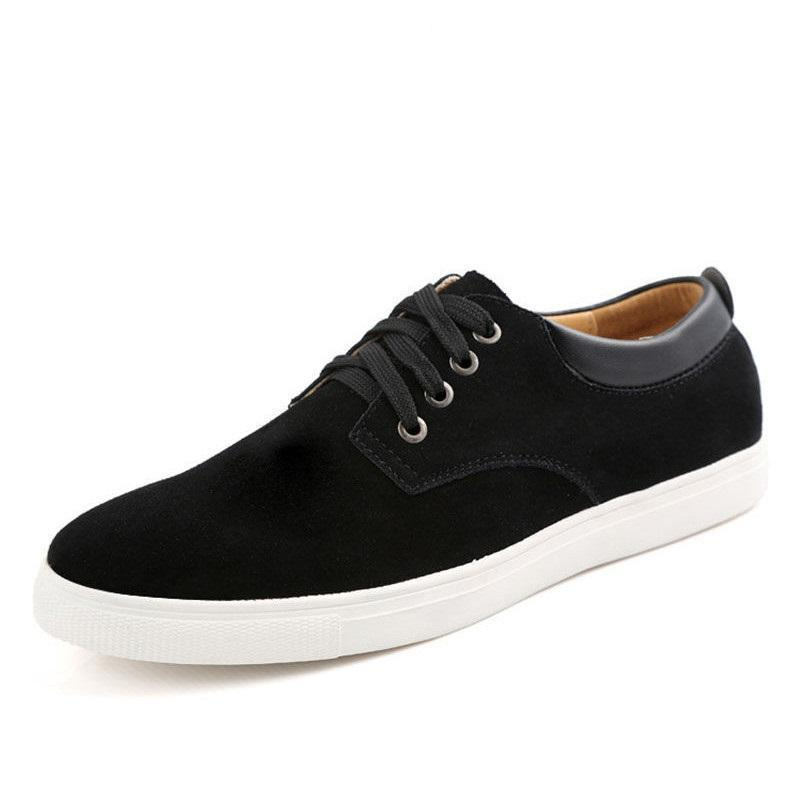 Casual Shoes For Men, Suede Leather Shoes,-Shoes-LeStyleParfait.Com
