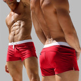 Coast Guard Vibes Men Swim Briefs-Swimwear-LeStyleParfait.Com