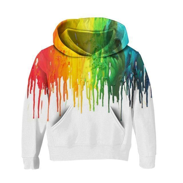 Colorful 3D Kids Hoodies UNISEX-Hoodies-Sweatshirts-Online-5T-White-LeStyleParfait.Com