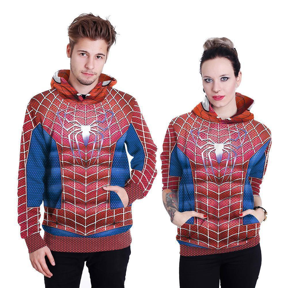 Couples Cartoon Character Hoodie-Hoodies-Sweatshirts-Online-LeStyleParfait.Com