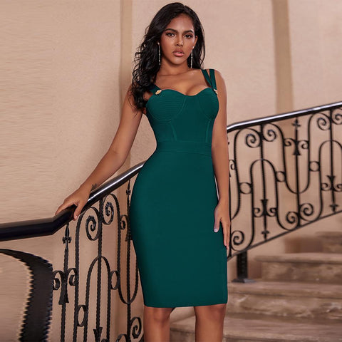 Date Night Bandage Dress-Dress-LeStyleParfait.Com