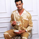 Don't Wake Me Up Men's Pajama Set-Men's Sleepwear-LeStyleParfait.Com
