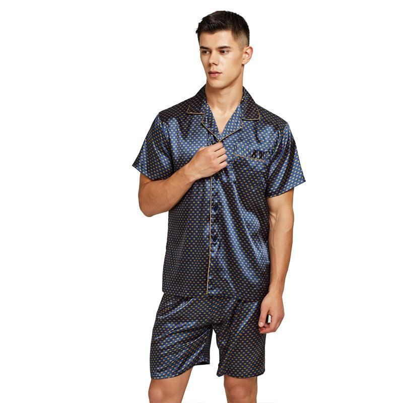 Drive You Wild Men Pajama Set-Men's Sleepwear-LeStyleParfait.Com