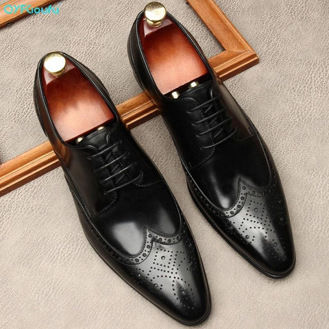 Edgardo Oxford Leather Shoes For Men-Shoes-Online-LeStyleParfait.Com