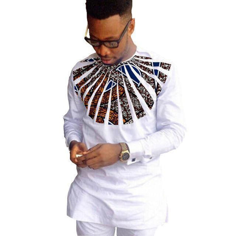 Egbuson African Shirt For Men-Shirt- African-Clothing-LeStyleParfait.Com
