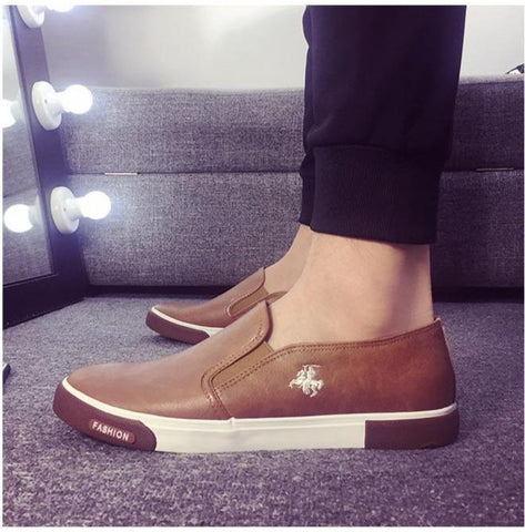 Fashion Brand Leather Loafers For Men - Men's Shoes Casual-Shoes-LeStyleParfait.Com