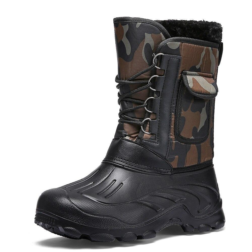 Fishing Snow Boots For Men-Shoes-LeStyleParfait.Com