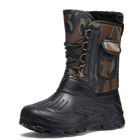 Fishing Snow Boots For Men Shoes LeStyleParfait.Com Green 40
