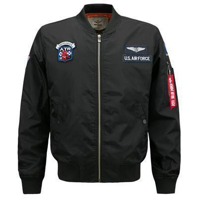 Flight Hour Bomber Jacket-Jacket-LeStyleParfait.Com
