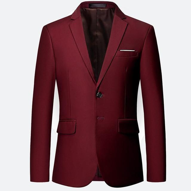 Formal Blazer For Men, Casual Slim Fit Blazer-Blazer-LeStyleParfait.Com