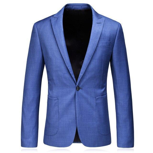Formal Men's Blazer Slim Fit Blazer-Blazer-LeStyleParfait.Com