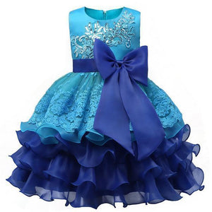 Girls Dresses, Princess Dress, Christening Dress 0-8 Yrs-Girls Dresses-LeStyleParfait.Com