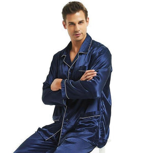 Good Night Vibes Men's Pajama Set-Men's Sleepwear-LeStyleParfait.Com