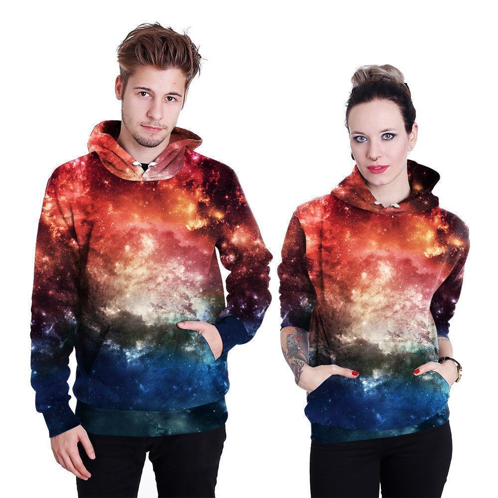 Hot Galaxy Space Hoodie UNISEX-Hoodies-Sweatshirts-Online-LeStyleParfait.Com