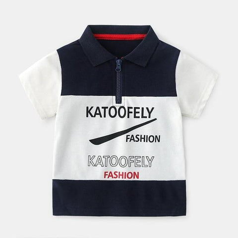 Katoo Boys Polo Shirts T-Shirts LeStyleParfait.Com Blue 3T