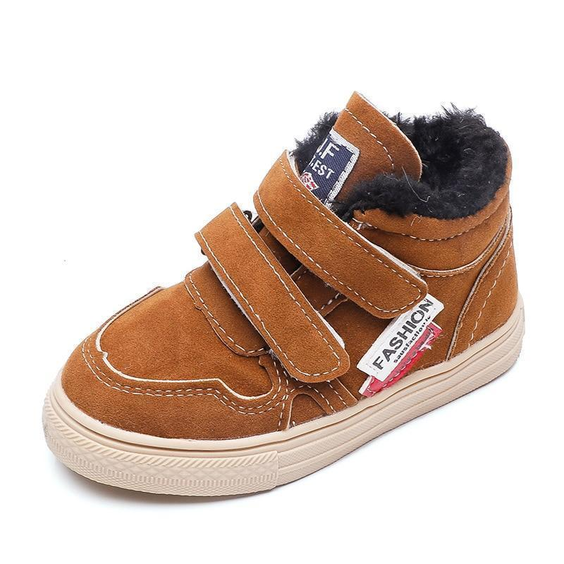 Kids Casual Shoes Hook & Loop Winter Sneakers-Shoes-online-LeStyleParfait.Com