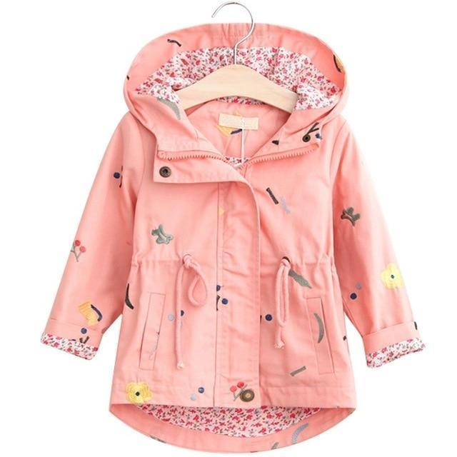 Kids Jacket Children Drawstring Jacket-Kids Jackets-LeStyleParfait.Com