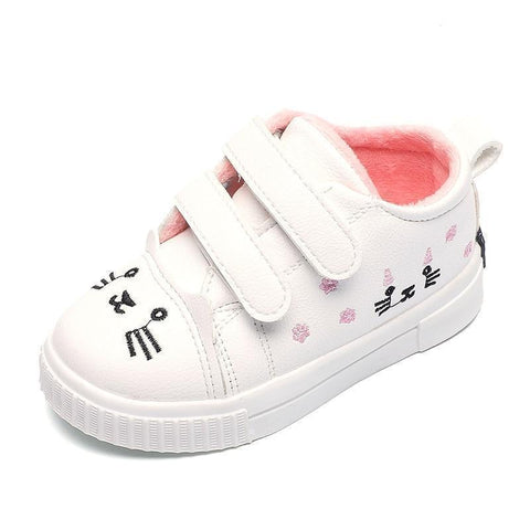 Kids Shoes Winter Sneakers Cute Cat Shoes-Shoes-online-LeStyleParfait.Com
