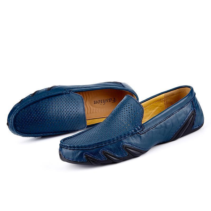 Loafer Shoes Mens Casual Shoes Breathable Flat Shoes-Shoes-LeStyleParfait.Com