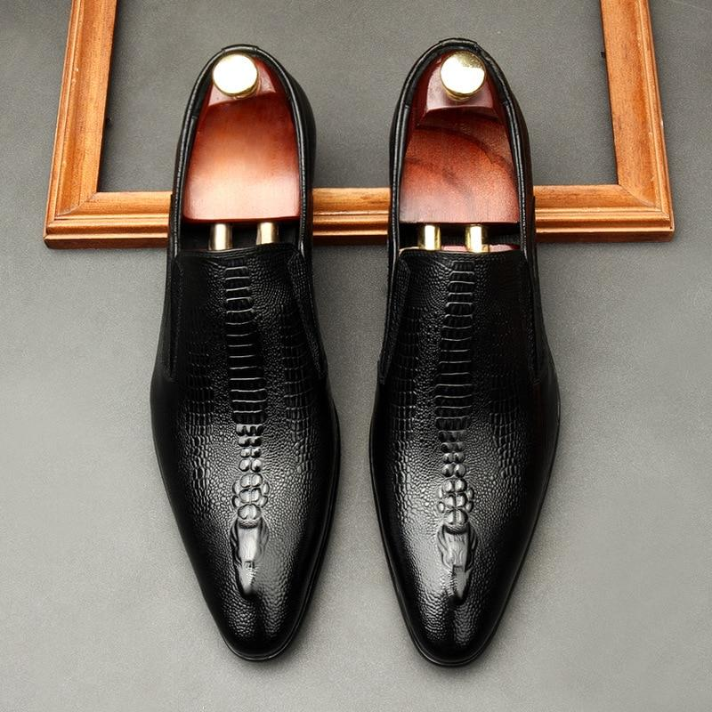 Lorenzo Leather Dress Shoes For Men-Shoes-LeStyleParfait.Com