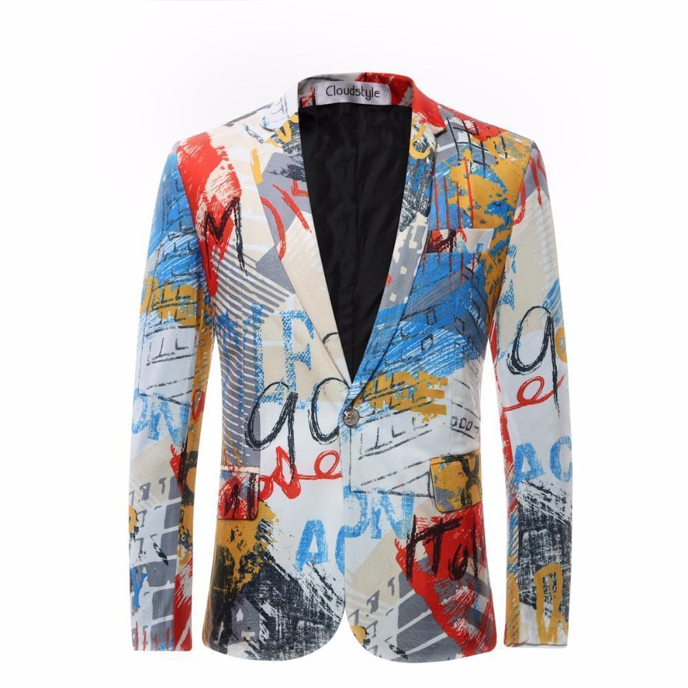 Men Luxury Fashion Blazer, Quality Big Size Slim Fit Blazer-Blazer-LeStyleParfait.Com