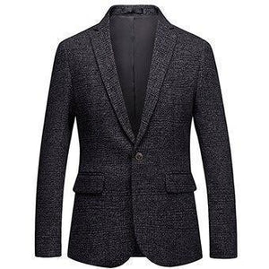 Men's Blazer Formal Plus Size Party Blazer Slim Fit-Blazer-LeStyleParfait.Com