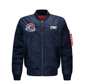 Men's Bomber Jackets, Aviator, Flight Jackets, Plus Size Jackets-Jacket-LeStyleParfait.Com