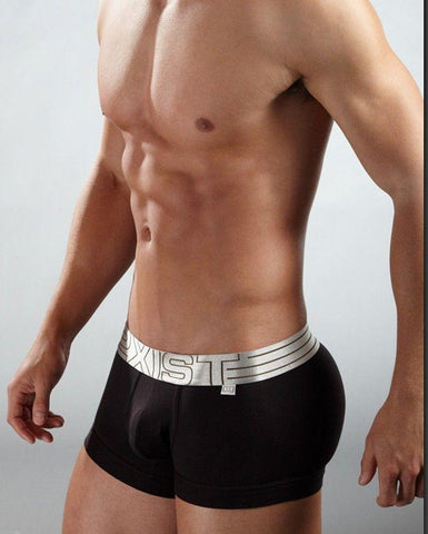 Mens Boxers Comfortable Underwear, Black, Grey, White-Underwear-LeStyleParfait.Com
