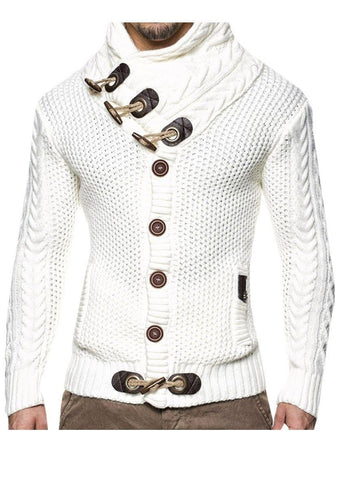 Men's Cardigan Knitted Elegant Sweater Sweater LeStyleParfait.Com Online Shop