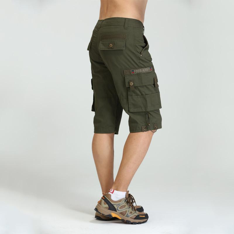 Men's Shorts Military Design Cargo Shorts-Shorts-LeStyleParfait.Com