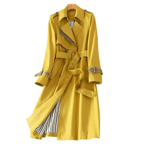 Miami Trench Coat For Women-Coat-LeStyleParfait.Com
